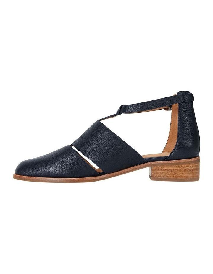 Jocelyn Navy Glove Flat Shoes image 4