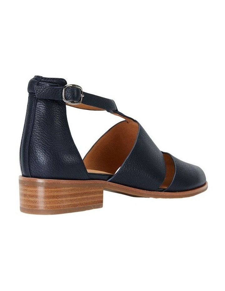 Jocelyn Navy Glove Flat Shoes image 5