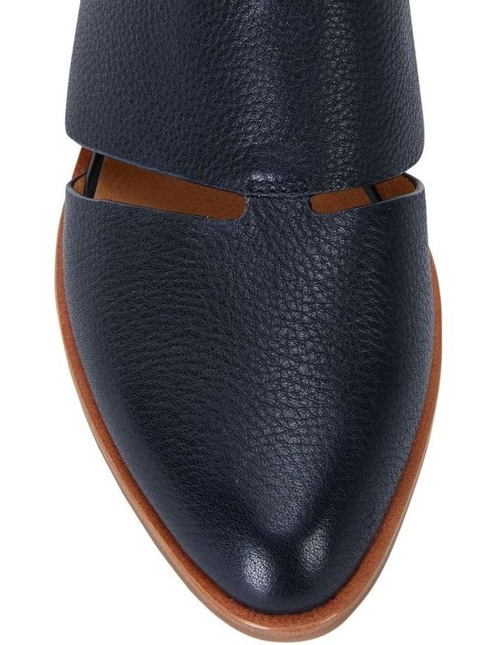 Jocelyn Navy Glove Flat Shoes image 6