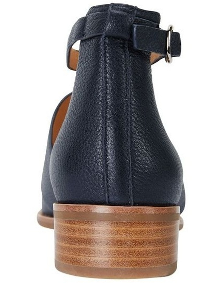 Jocelyn Navy Glove Flat Shoes image 7