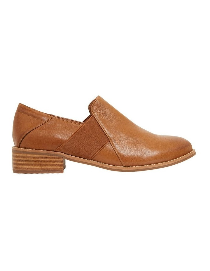 Baron Mid Brown Glove Flat Shoes image 1