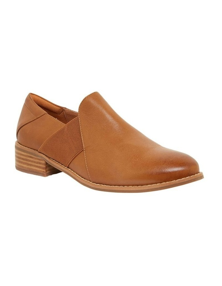 Baron Mid Brown Glove Flat Shoes image 2