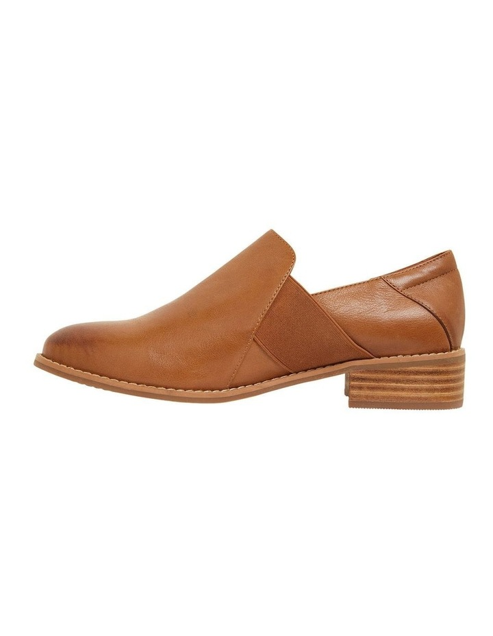 Baron Mid Brown Glove Flat Shoes image 3