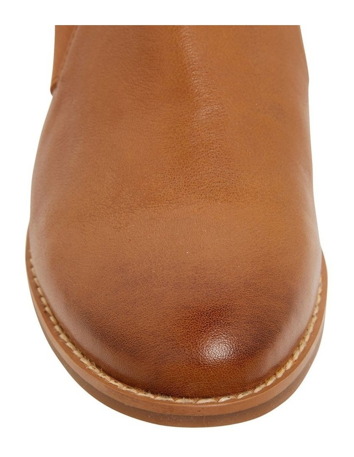 Baron Mid Brown Glove Flat Shoes image 6