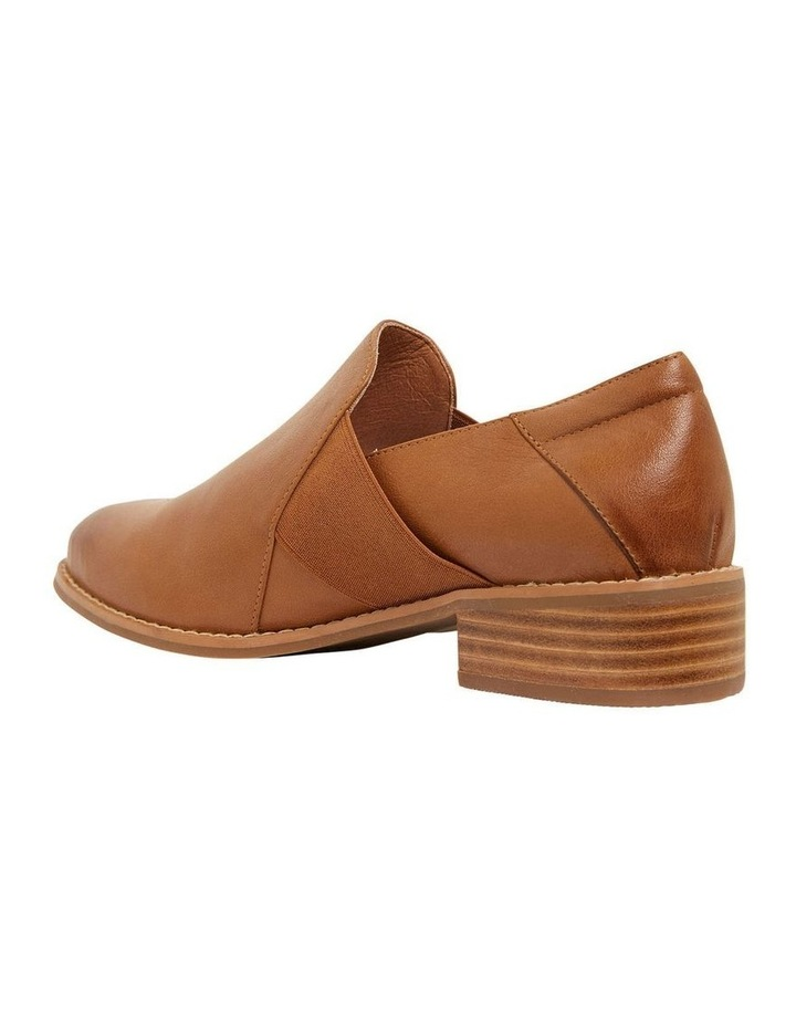 Baron Mid Brown Glove Flat Shoes image 7