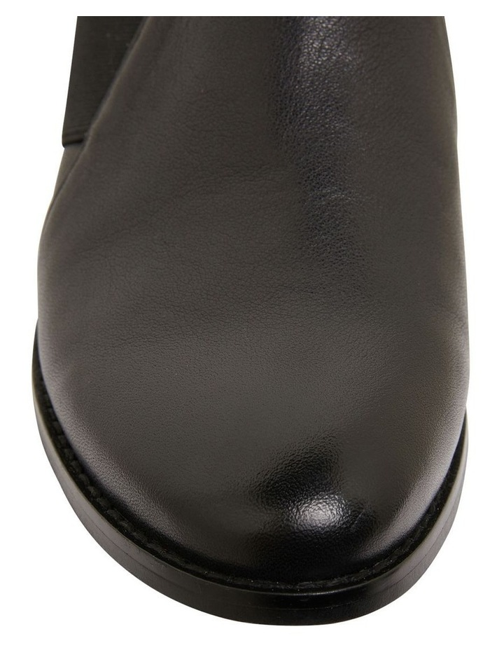 Baron Black Glove Flat Shoes image 6