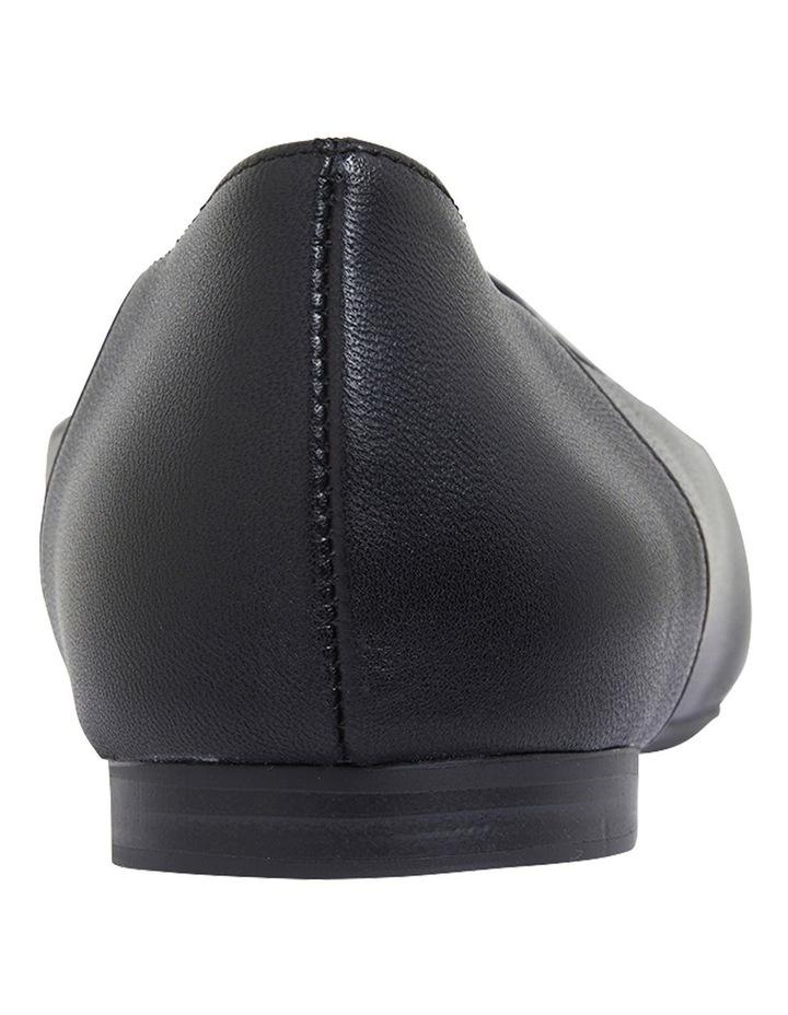 Hugo Black Glove Flat Shoes image 5