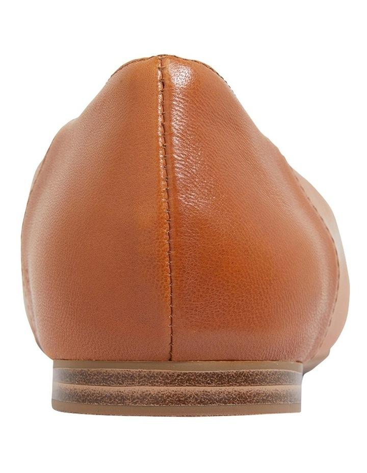 Hugo Cognac Glove Flat Shoes image 5
