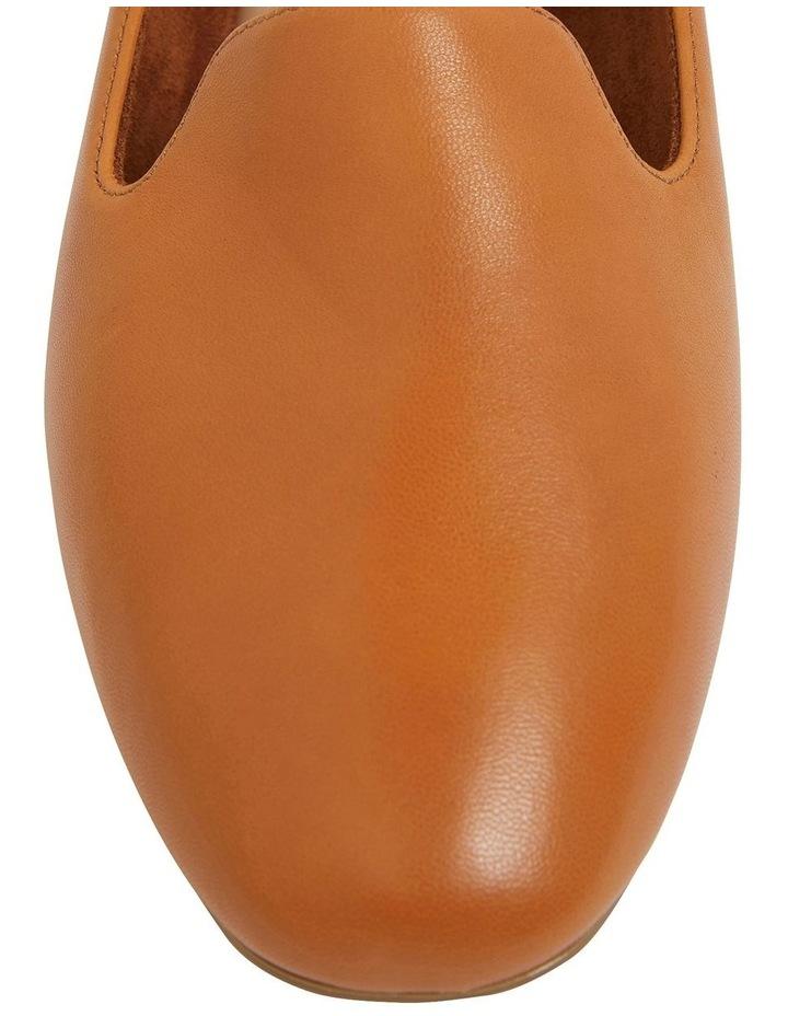 Hugo Cognac Glove Flat Shoes image 7