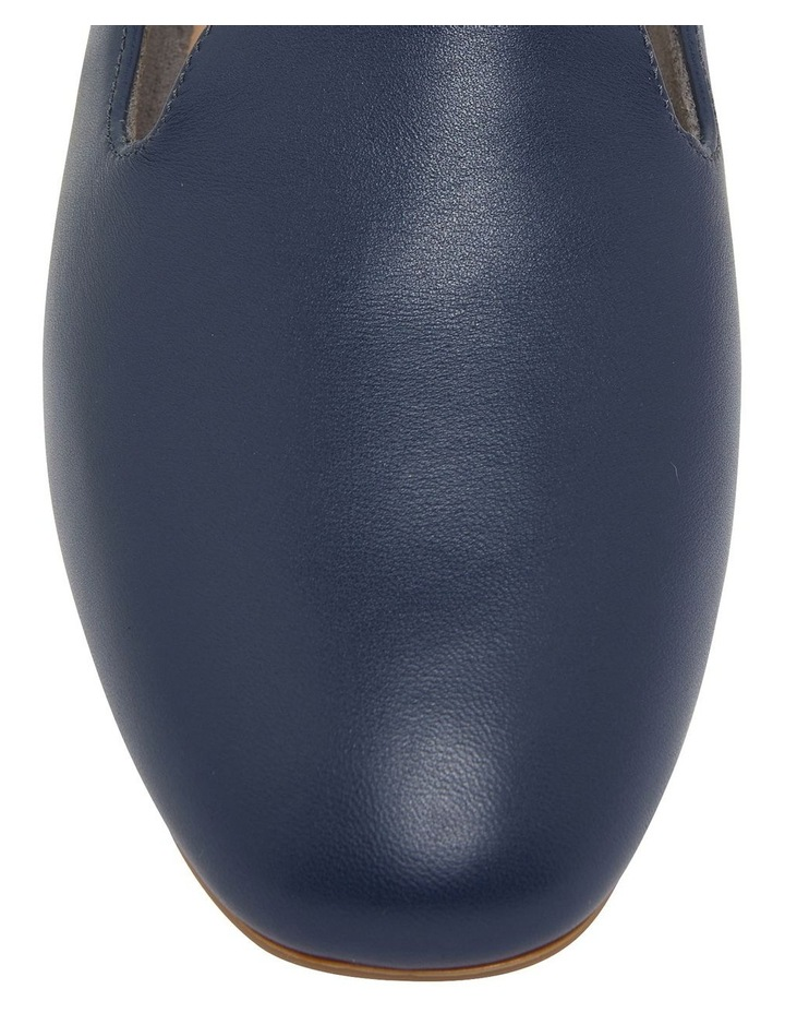 Hugo Navy Glove Flat Shoes image 7