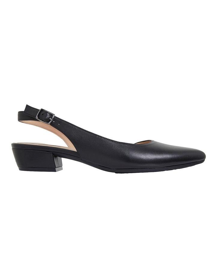Ramsey Black Glove Heeled Shoes image 1