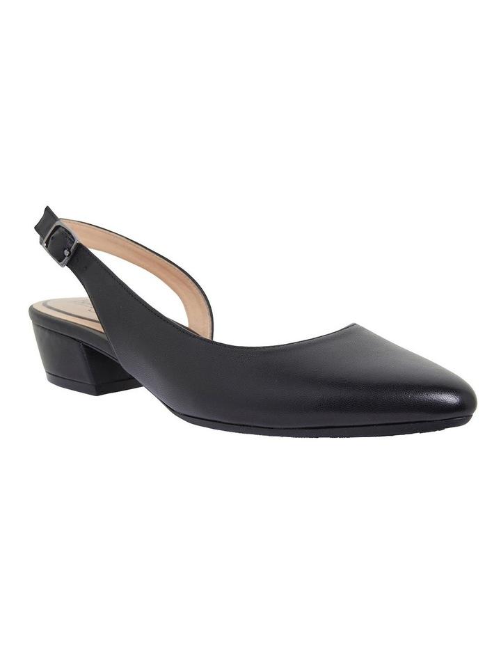 Ramsey Black Glove Heeled Shoes image 2