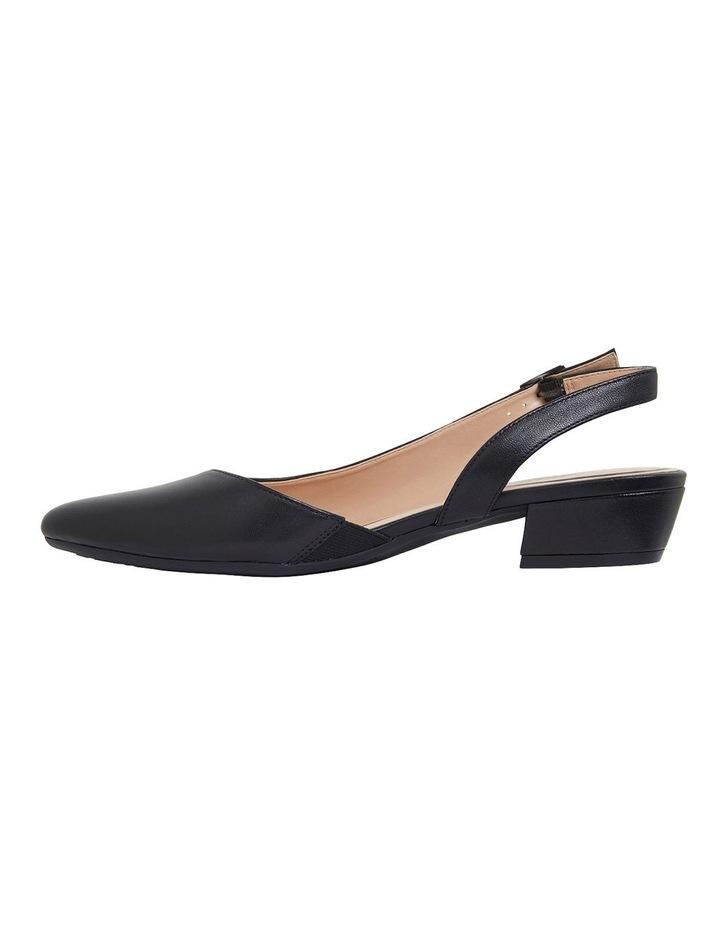Ramsey Black Glove Heeled Shoes image 3