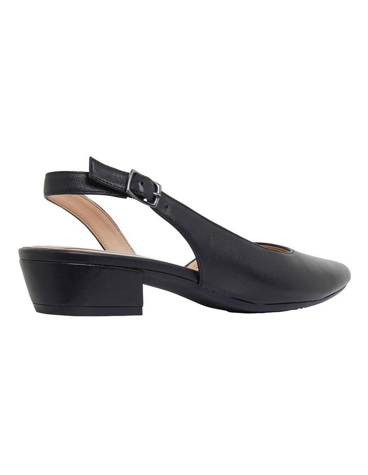 Ramsey Black Glove Heeled Shoes image 4