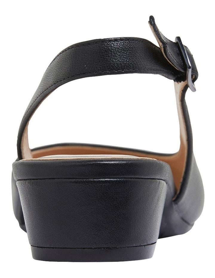 Ramsey Black Glove Heeled Shoes image 5