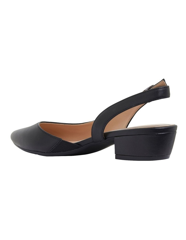 Ramsey Black Glove Heeled Shoes image 6