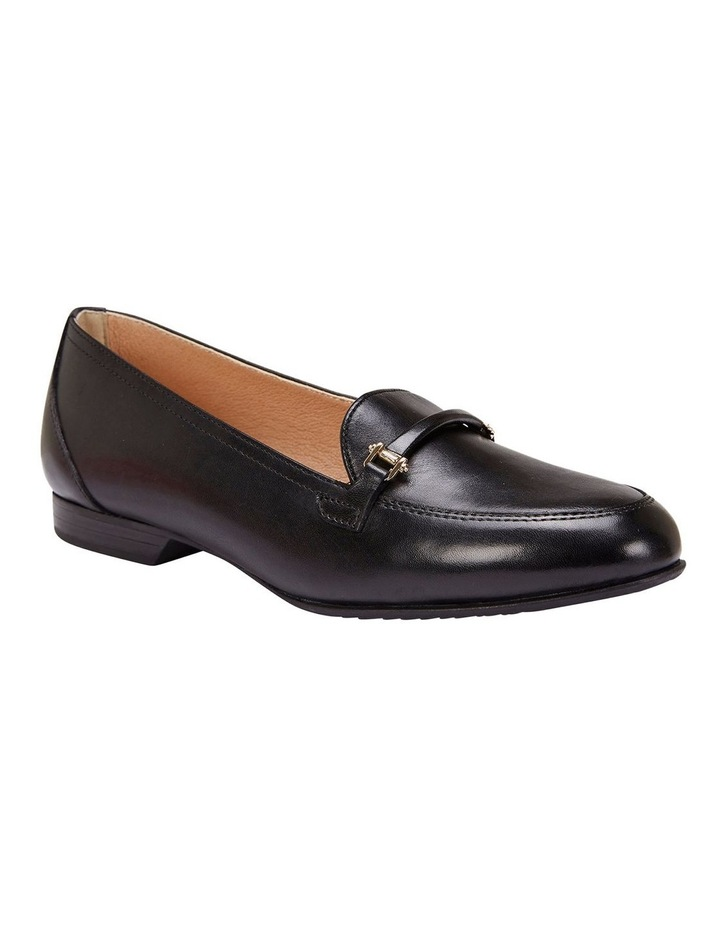 Glebe Black Glove Flat Shoes image 2