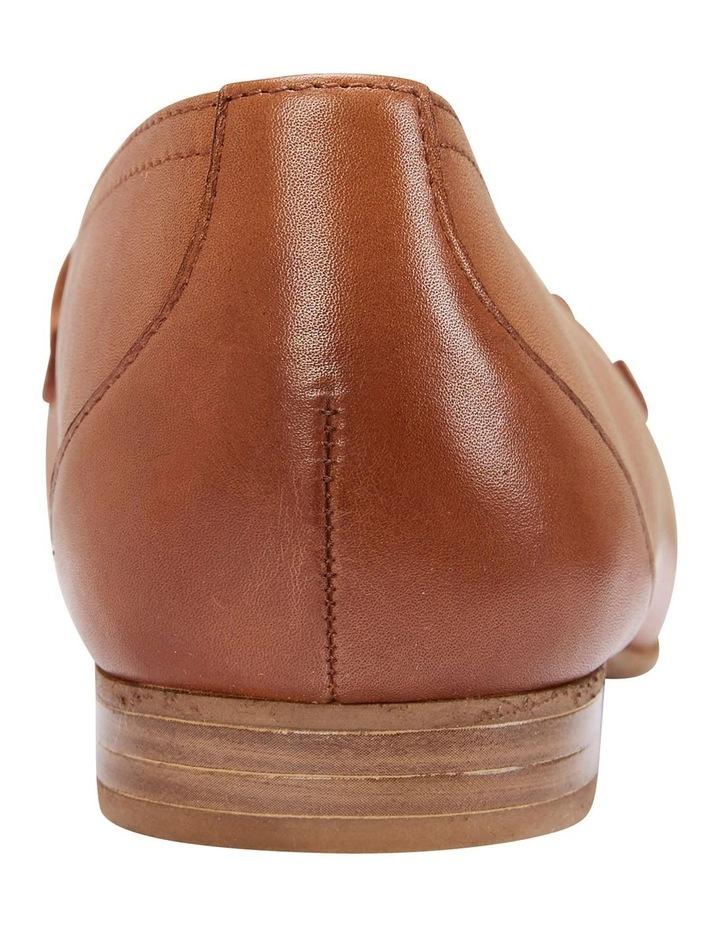 Glebe Cognac Glove Flat Shoes image 7
