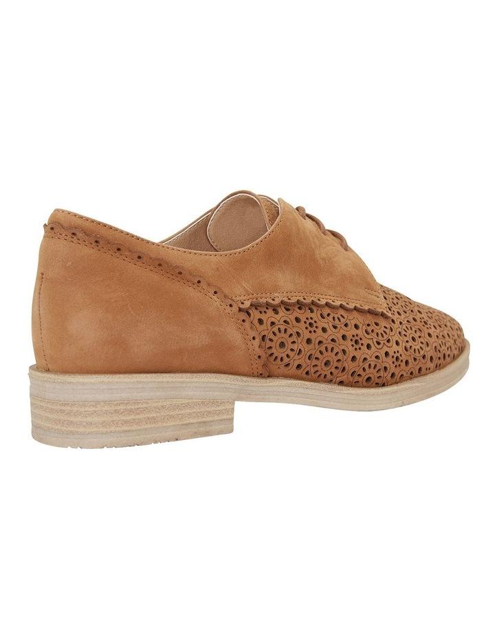 Nero Tan Nubuck Flat Shoe image 4