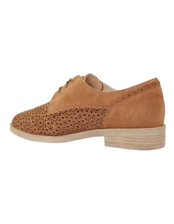 Nero Tan Nubuck Flat Shoe image 5