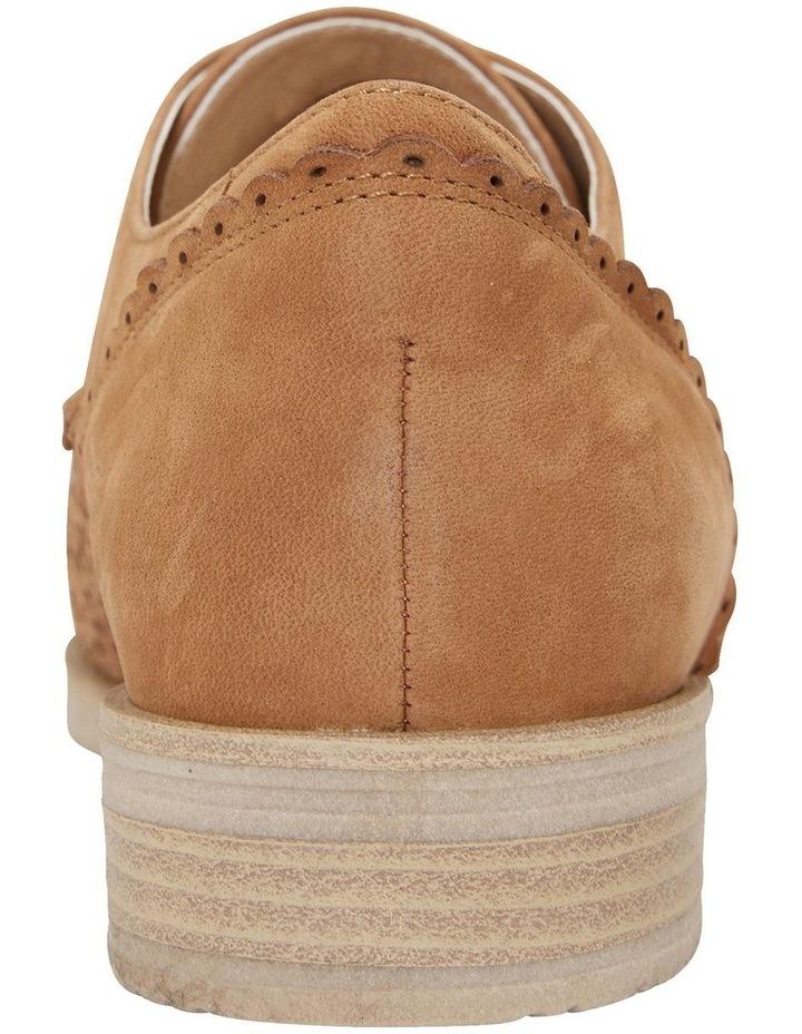 Nero Tan Nubuck Flat Shoe image 6