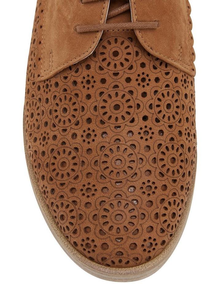 Nero Tan Nubuck Flat Shoe image 7