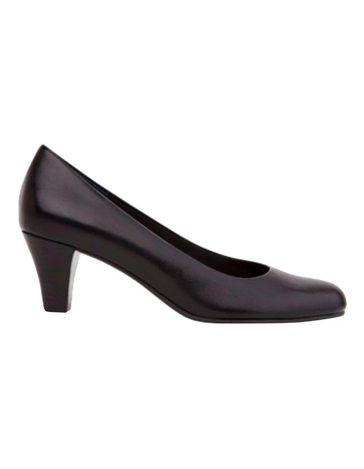 Linda Black Glove Heeled Shoes image 1