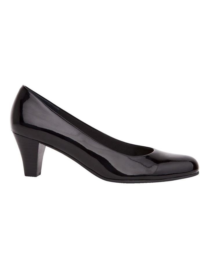 Linda Black Patent Heeled Shoes image 1