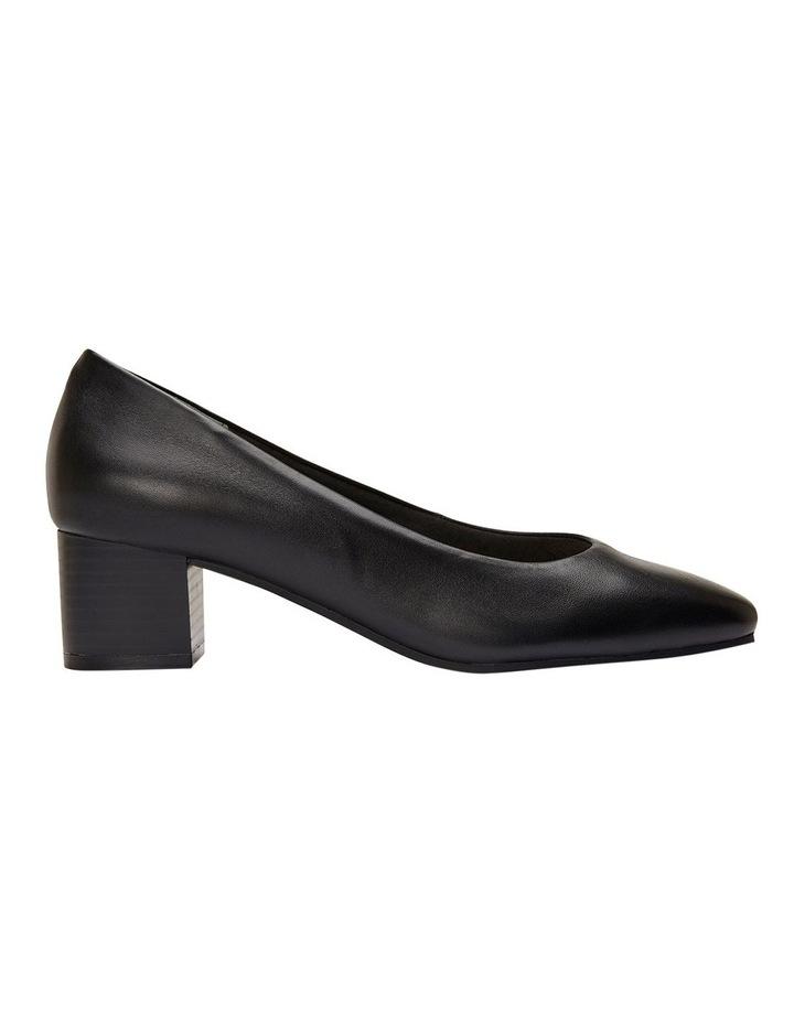Gamma Black Glove Heeled Shoes image 1