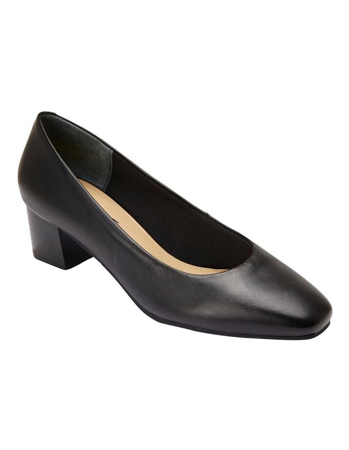Gamma Black Glove Heeled Shoes image 2
