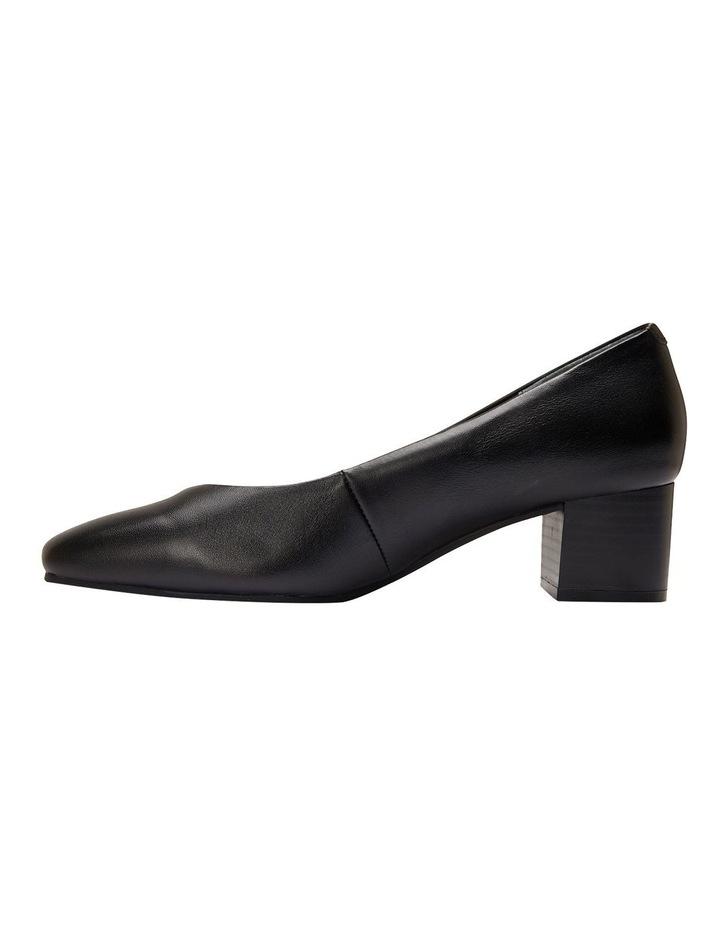 Gamma Black Glove Heeled Shoes image 3