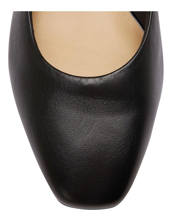 Gamma Black Glove Heeled Shoes image 4
