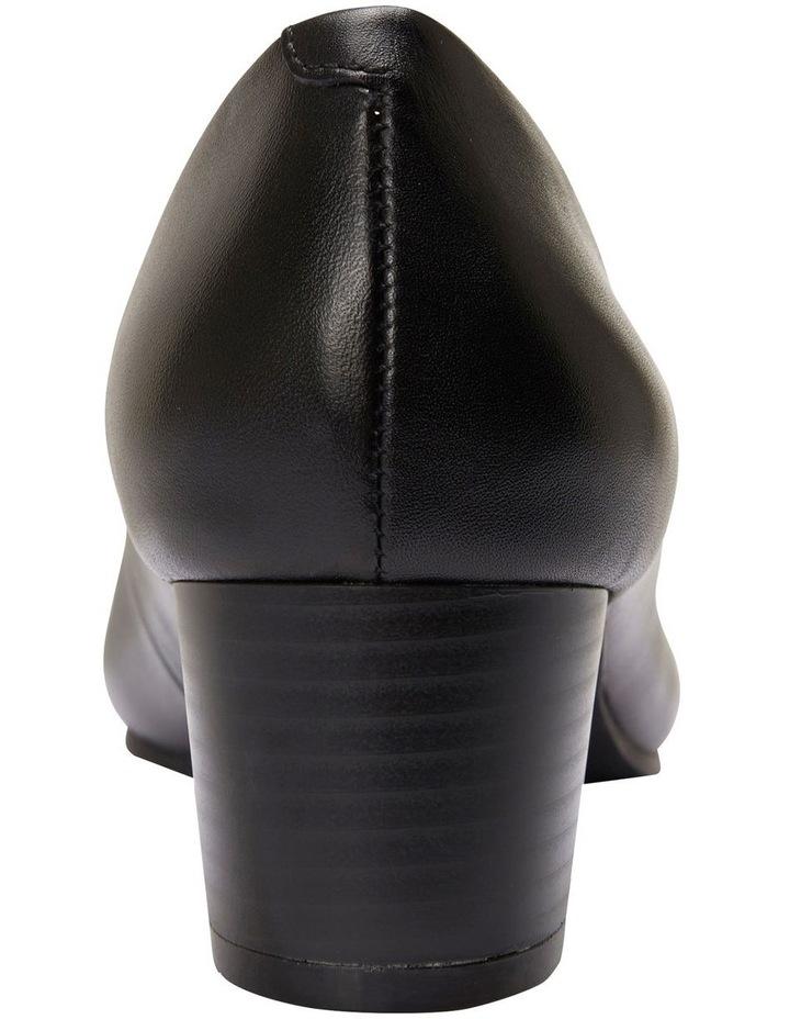 Gamma Black Glove Heeled Shoes image 5