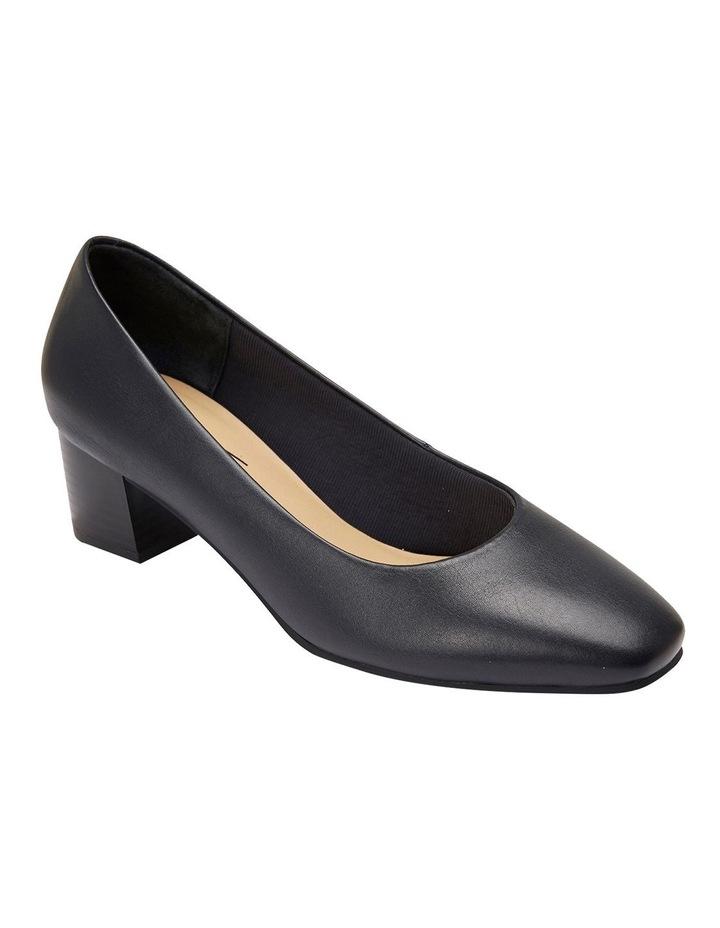 Gamma Navy Glove Heeled Shoes image 2
