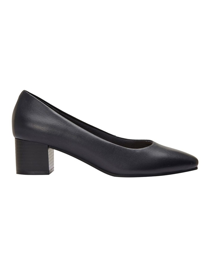 Gamma Navy Glove Heeled Shoes image 4