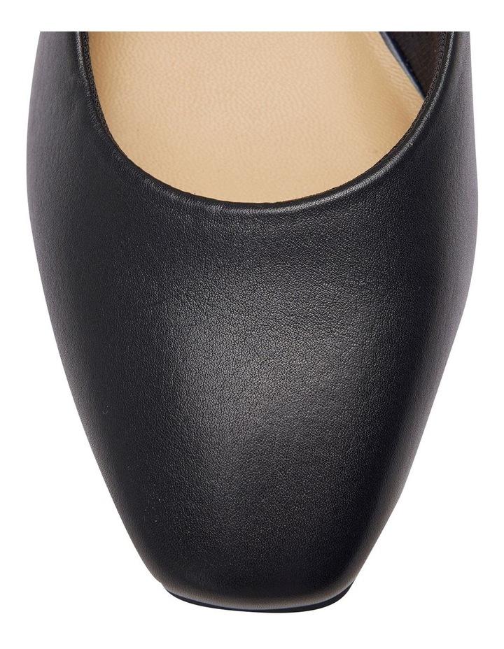Gamma Navy Glove Heeled Shoes image 5