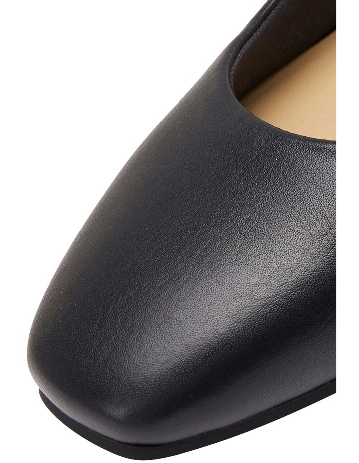 Gamma Navy Glove Heeled Shoes image 6