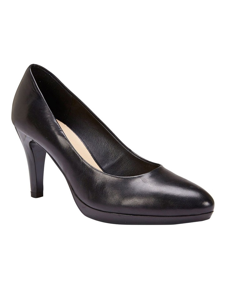 Opus Black Glove Heeled Shoes image 1