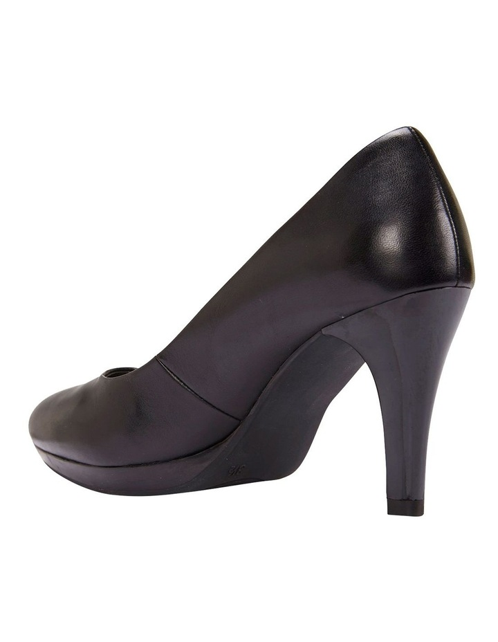 Opus Black Glove Heeled Shoes image 2