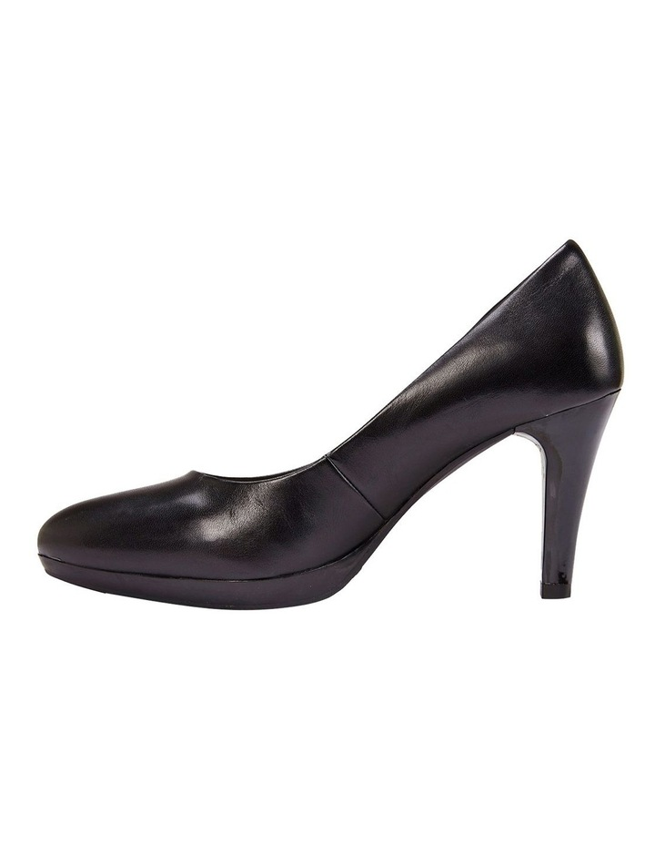 Opus Black Glove Heeled Shoes image 3