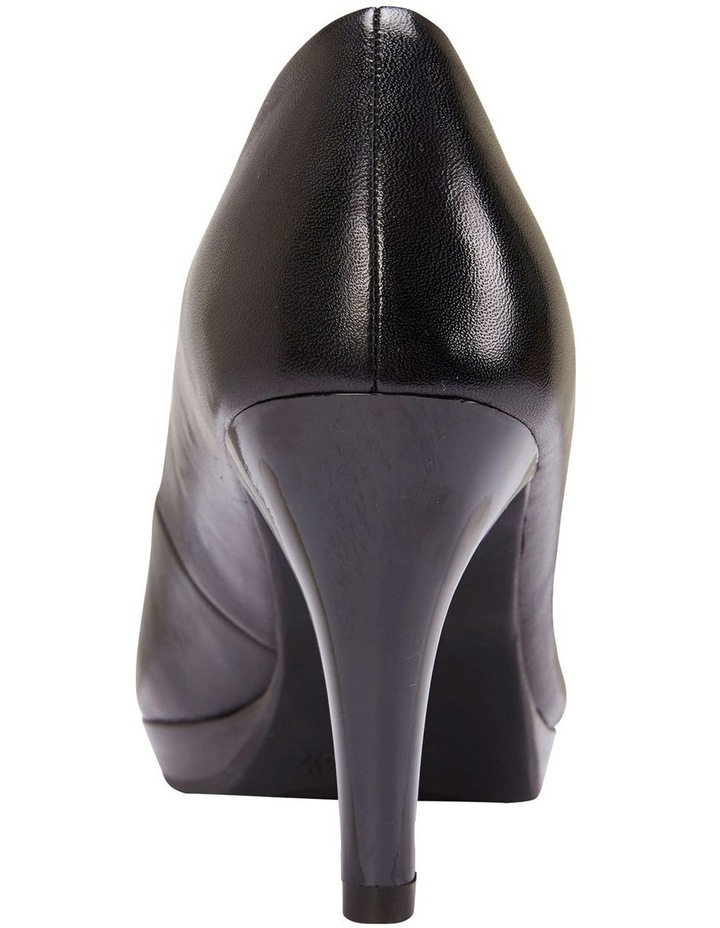 Opus Black Glove Heeled Shoes image 4
