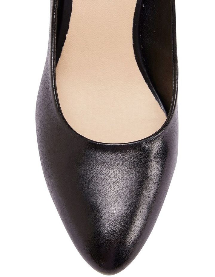 Opus Black Glove Heeled Shoes image 5