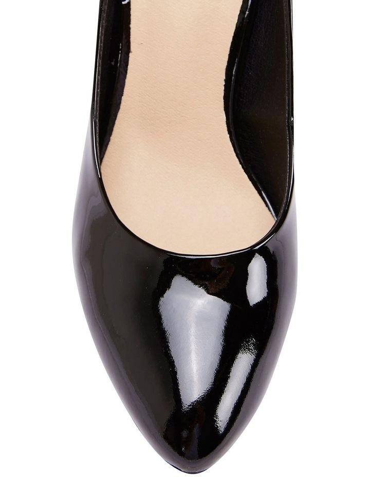 Opus Black Patent Heeled Shoes image 5