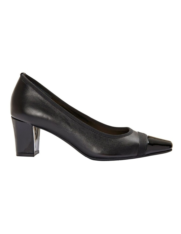 Network Black Patent/ Glove Heeled Shoes image 1