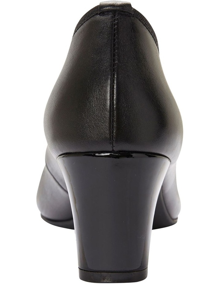 Network Black Patent/ Glove Heeled Shoes image 3