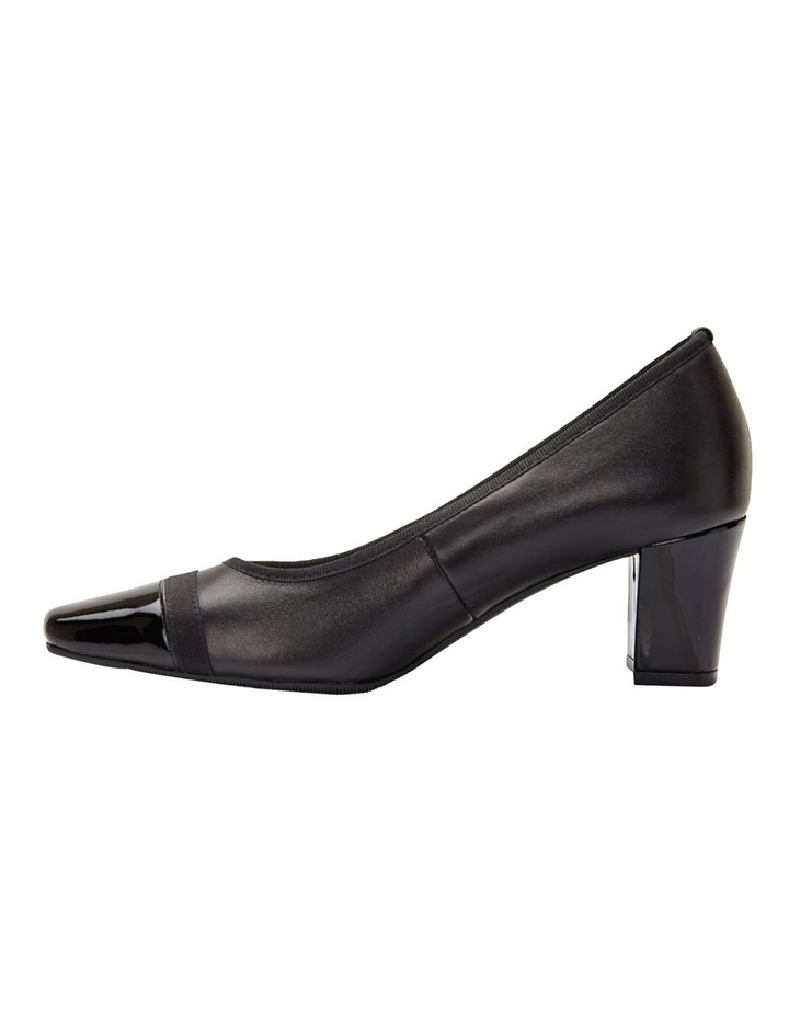 Network Black Patent/ Glove Heeled Shoes image 4