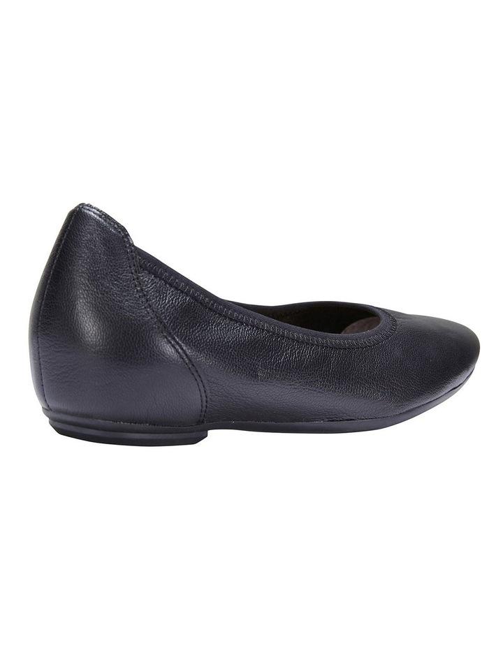 Pamper Black Glove Flat Shoes image 4