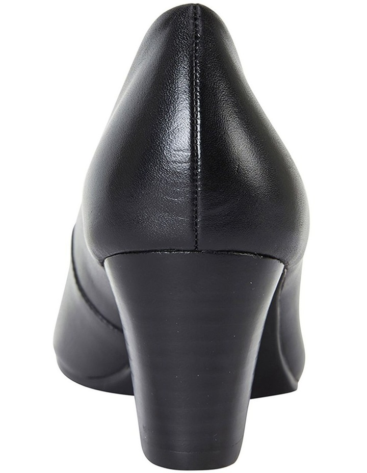 Marley Black Glove Heeled Shoes image 4