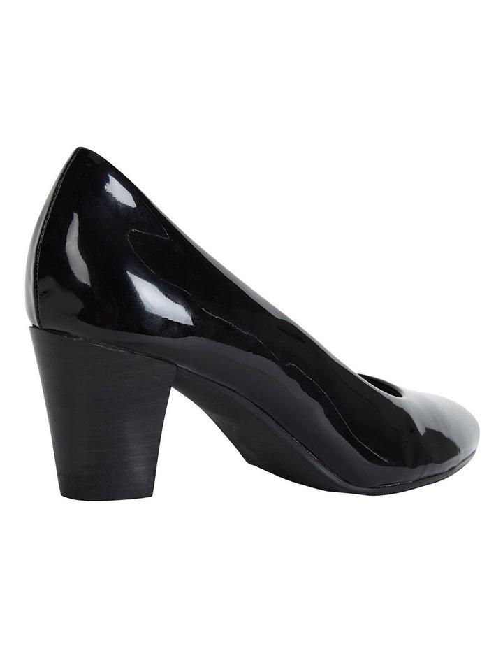 Marley Black Patent Heeled Shoes image 3