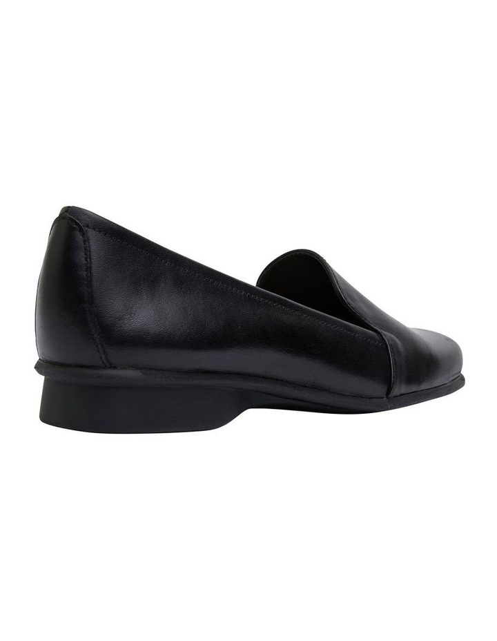 Knox Black Glove Flat Shoes image 3